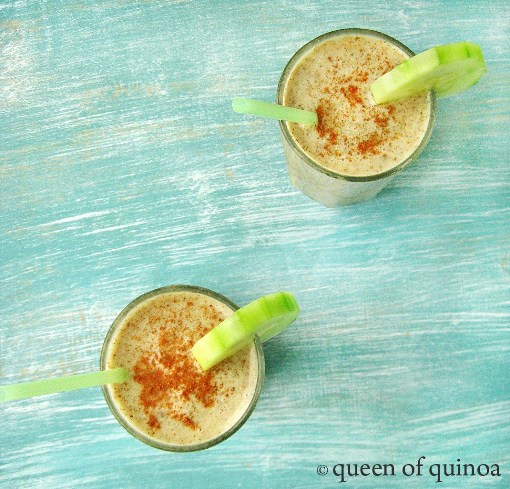 Cucumber Pear Smoothie | Gluten-Free & Dairy-Free