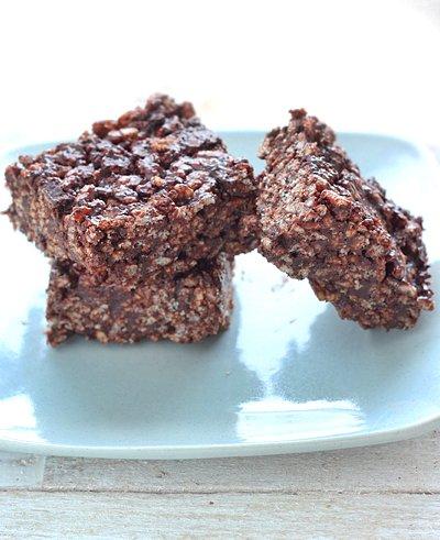 Peppermint Patty Rice Crispy Treats | Gluten-Free | Queen of Quinoa
