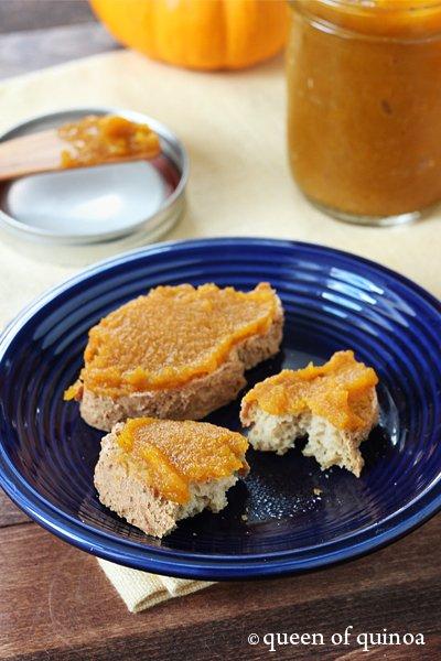 Sugar-Free Pumpkin Butter | Gluten-Free | Queen of Quinoa