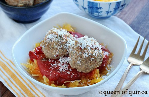 Rosemary Quinoa Meatballs | Gluten-Free | Queen of Quinoa