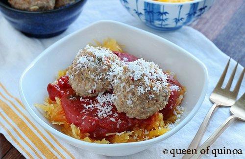 Rosemary Quinoa Meatballs | Gluten-Free | Queen of Quinoa