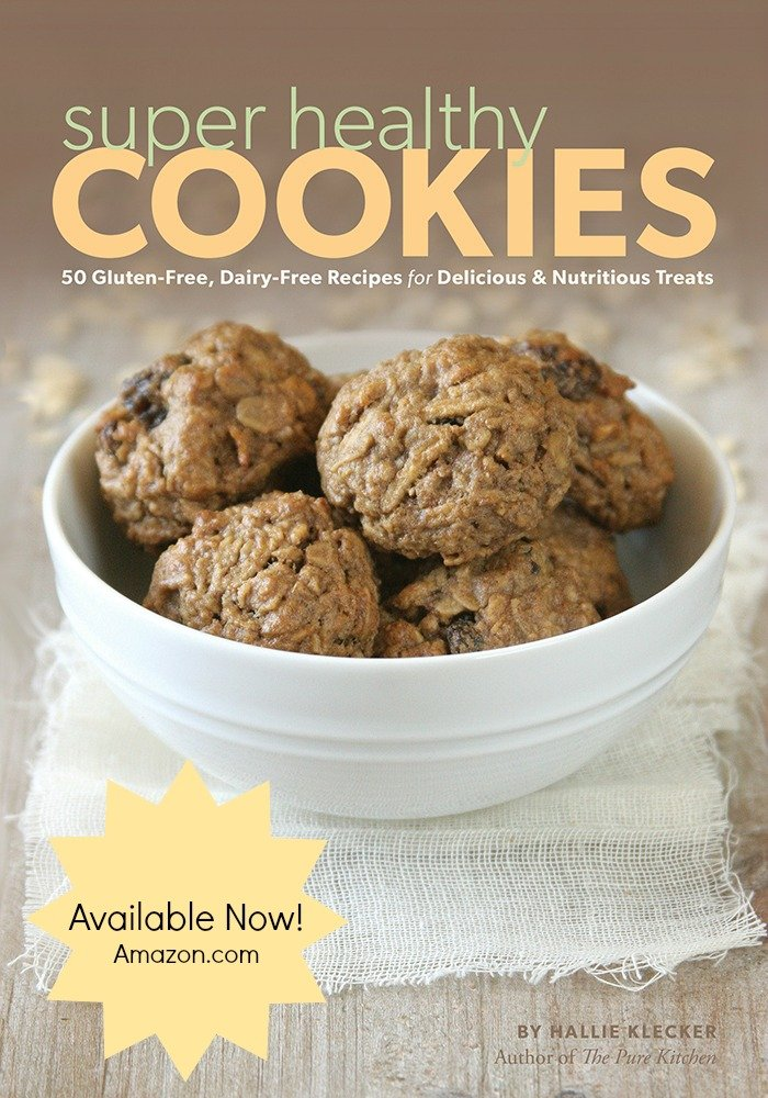 Super Healthy Cookies by Hallie Klecker | Giveaway from @alyssarimmer