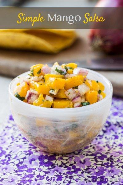 Simple Mango Salsa (@alyssarimmer)