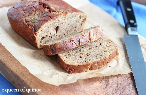 Gluten-Free Zucchini Bread | Queen of Quinoa