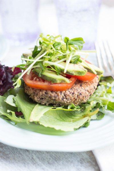Black Bean Quinoa Burgers - a vegetarian and gluten-free option everyone will adore
