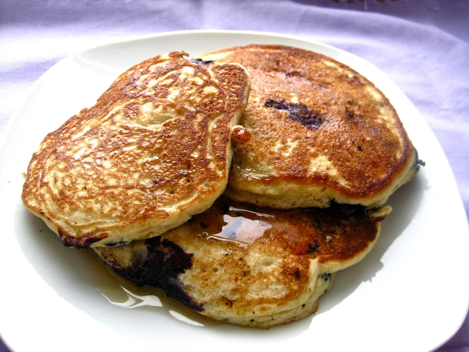 Perfect Gluten-Free Blueberry Pancakes - Simply Quinoa