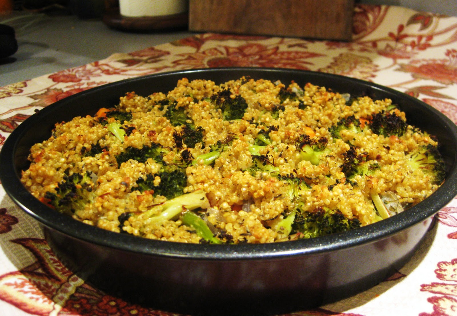 recipe: vegan quinoa broccoli [17]