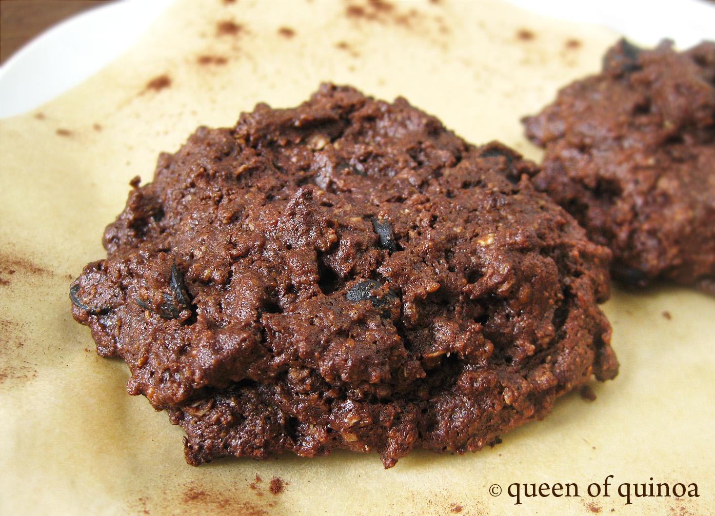 Double Chocolate Chip Quinoa Cookies