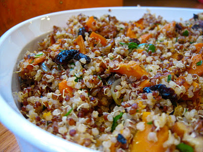 Quinoa Stuffing Recipe - for a healthy, gluten-free Thanksgiving!