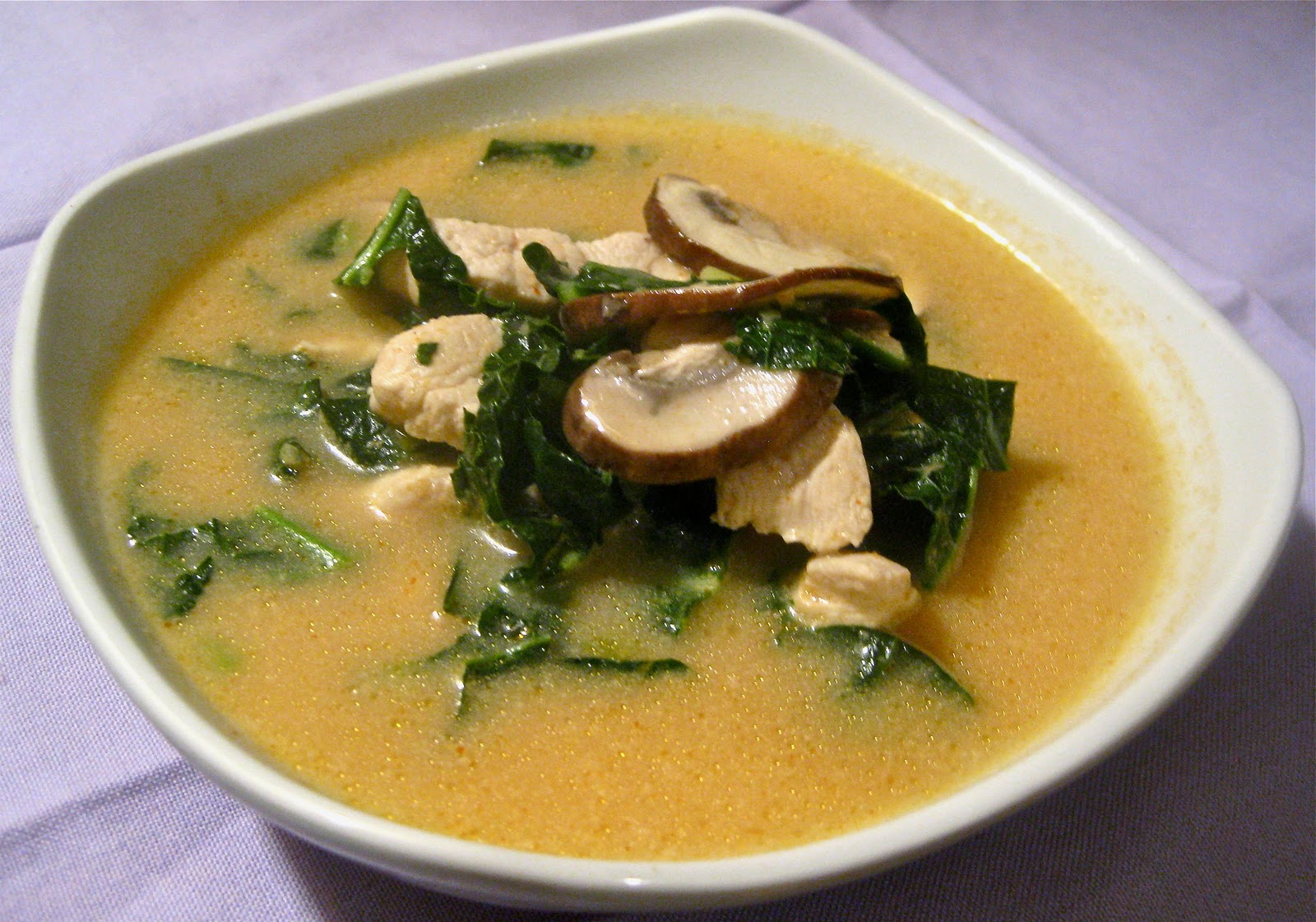 style stir fried chicken and basil thai style chicken and coconut soup ...