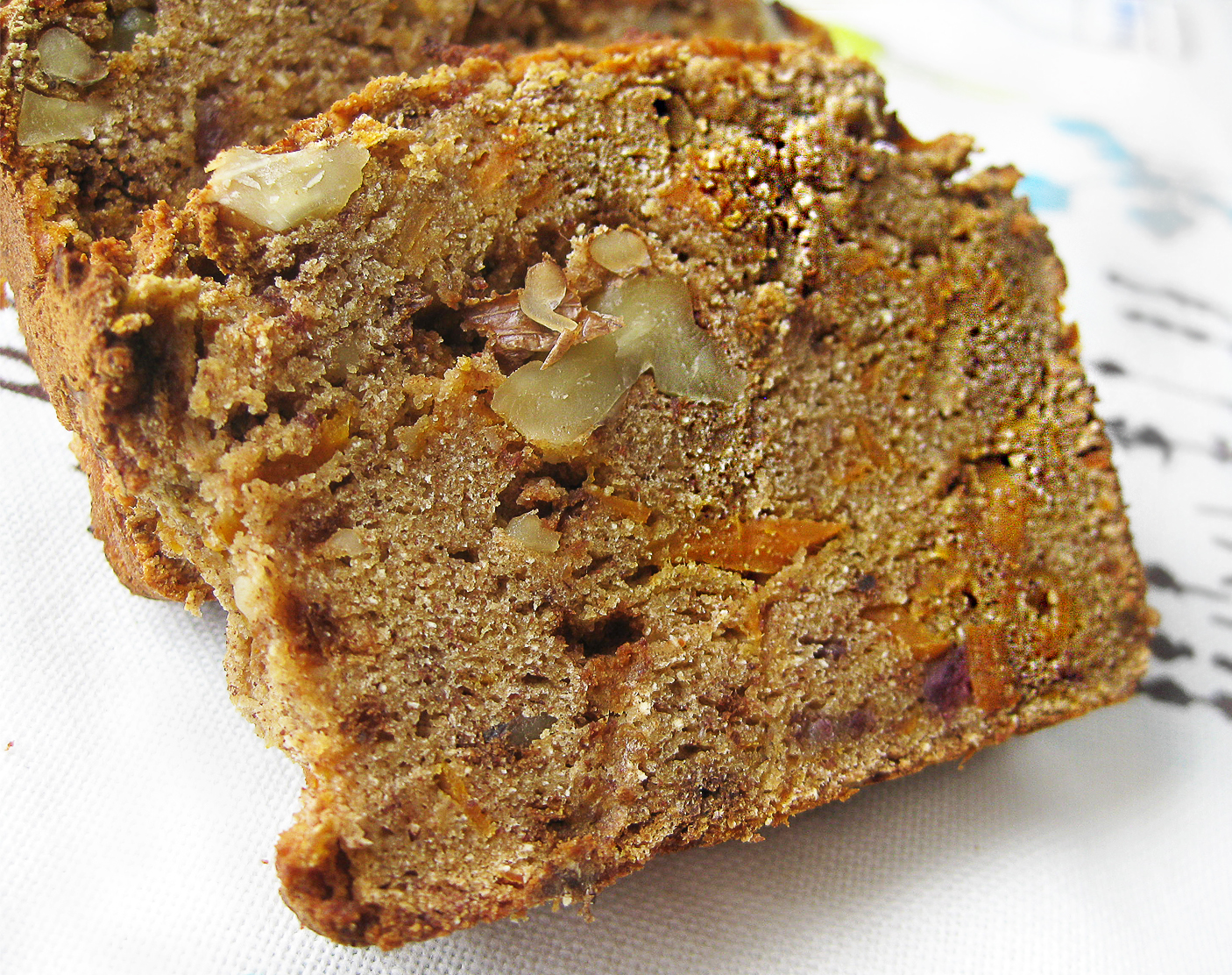 Gluten-Free Carrot Nut Bread
