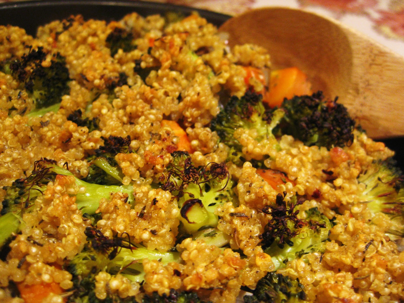 recipe: vegan quinoa broccoli [32]