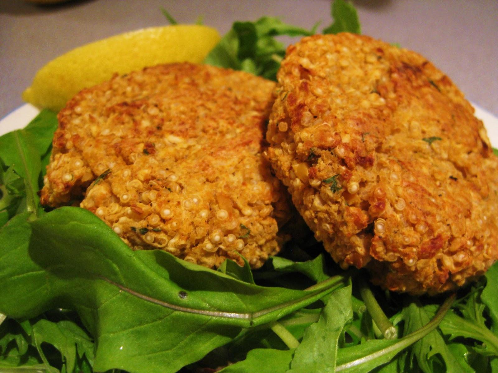 Vegetarian Recipe Quinoa Cakes All Animal Magazine