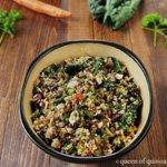 Healthy Detox Salad via Queen of Quinoa