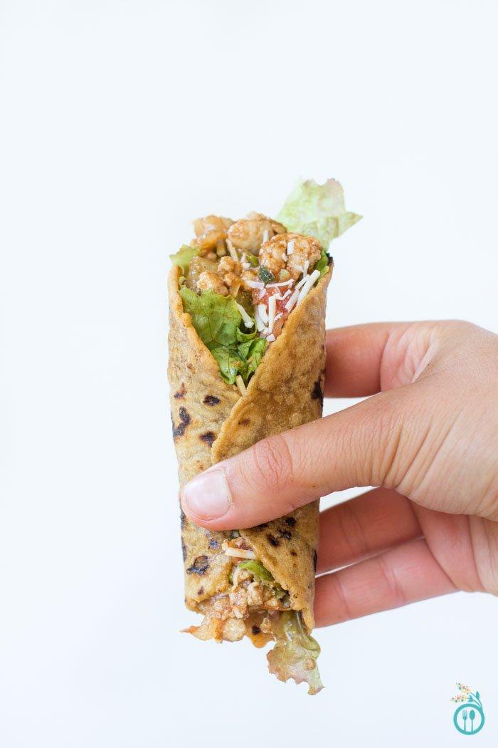 Gluten-Free Tortillas with Turkey Wraps