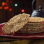 gluten free pizzelles via Queen of Quinoa