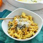 Pumpkin & Chicken Baked Pasta via Queen of Quinoa
