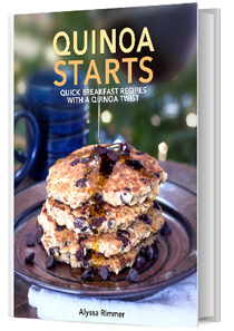 Quinoa Starts - a brand new ebook full of quinoa breakfast recipes