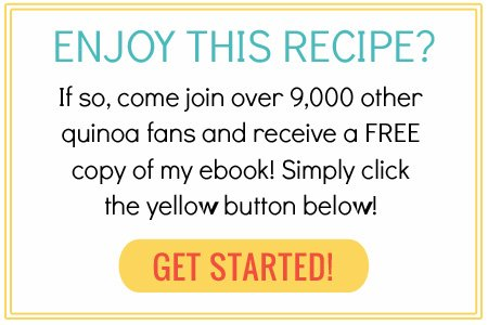 Subscribe now to receive a free quinoa cookbook!